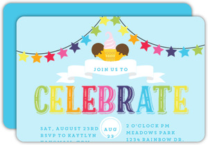 Colorful Celebrations Summer Party Invitation
