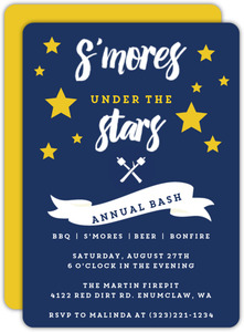 Smore Fun Summer Party Invitation