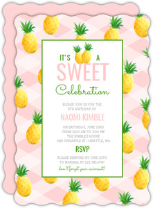 Sophisticated Cool Summer Party Invitation