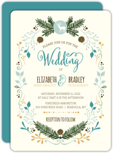 Country Charm Wedding Invitation