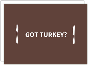 Eat Turkey Thanksgiving Invitation