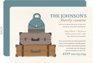 Pack Your Bags Family Reunion Invitation