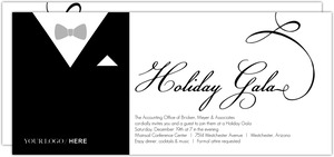 Tuxedo Business Holiday Party Invitation