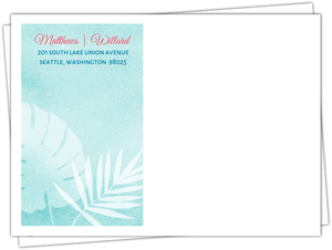 Seaside Oasis Custom Envelope