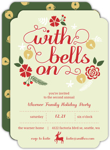 Jingle Bell Bash Party Invitation