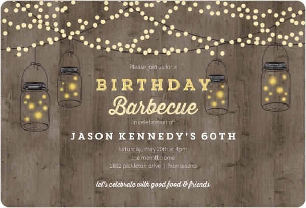 Backyard barbecue birthday party invitation adult birthday invitations backyard barbecue birthday invitation filmwisefo