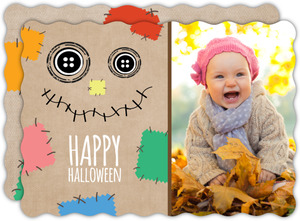 Happy Scarecrow Halloween Card