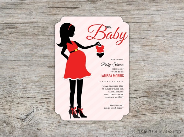 Image of silhouette baby shower invitations silhouette baby shower beautiful baby shower invitations pregnant mom silhouette pics of filmwisefo