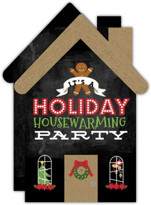 Gingerbread Housewarming Party Invitation Card