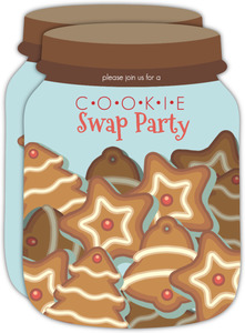 Cookie Jar Holiday Cookie Swap Party Invite