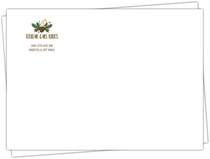 Country Charm Custom Wedding Envelope