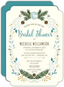 Country Charm Bridal Shower Invitation
