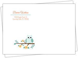 Cute Little Owl Envelope