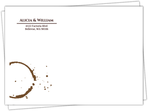 The Perfect Blend Coffee Ring Envelope