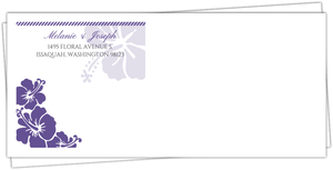 Purple Destination Boarding Pass Customo Envelope