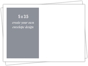 Create Your Own 5x3.5 Envelope
