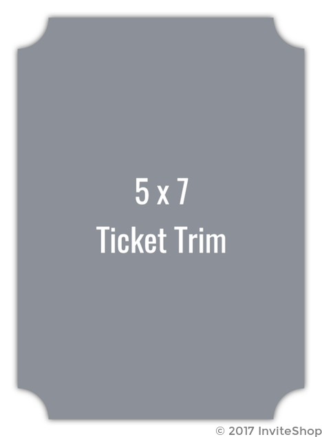 create your own 5x7 ticket die card create your own templates