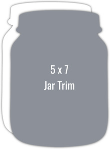 Create Your Own 5x7 Jar Die Card