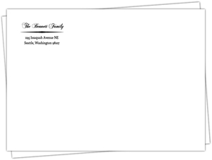 Simple Divider Envelope