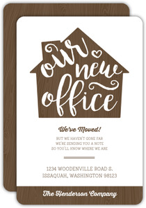 Our New Office Business Moving Announcement
