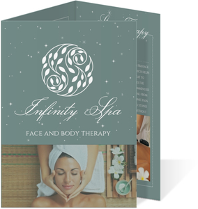 Beautiful Spa Photos Tri Fold Business Flyer