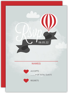 Sky High Love Response Card