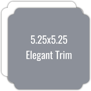 Create Your Own 5.25x5.25 Elegant Die Card
