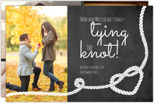 Love Knot Engagement Announcement