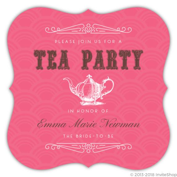 Tea party vintage style bridal shower invitation bridal shower tea party vintage style bridal shower invitation filmwisefo
