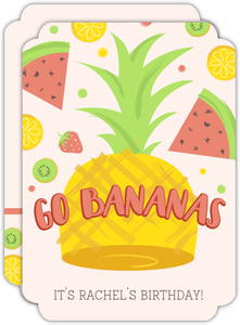 Fruit Salad Kids Birthday Invitation
