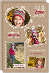 Krafty Photo Collage Holiday Card