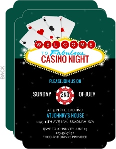 Cheap Poker Invitations Invite Shop