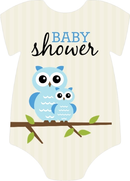 Striped and tan blue owl baby shower invitation boy baby shower striped tan blue owl baby shower invitation filmwisefo