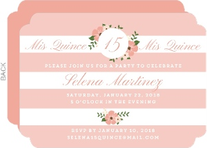 Cheap Custom Quinceanera Invitations InviteShop