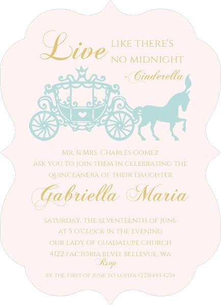 Elegant princess quinceanera invitation quinceanera invitations elegant princess quinceanera invitation stopboris Choice Image