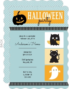 Cute Halloween Animals  Halloween Card