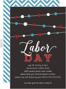Cheap Labor Day Party Invitations Invite Shop