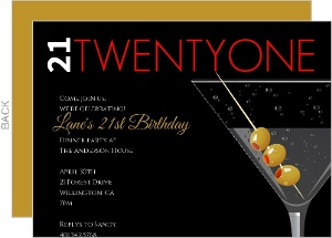 Cheap 21st birthday invitations invite shop 21st birthday invitations filmwisefo