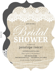 Good Antique Lace Bridal Shower Invitation Great Ideas