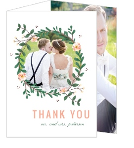 Cheap Custom Wedding Thank You Cards | InviteShop