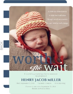 Worth The Wait Typography Adoption Announcement