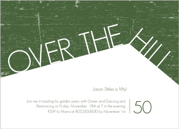 Cheap 50th birthday invitations invite shop 50th birthday invitations filmwisefo