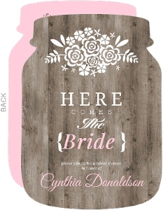 bridal shower invitations - Rustic Wedding Shower Invitations
