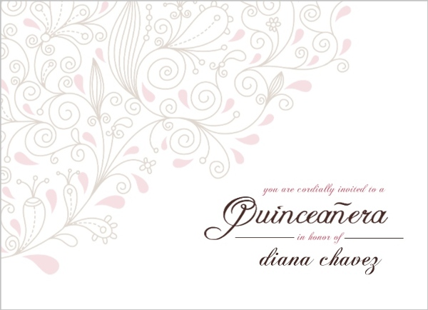 Cheap quinceanera invitations invite shop elegant la quinceanera invitation solutioingenieria Image collections