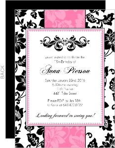 18th Birthday Party Invitation