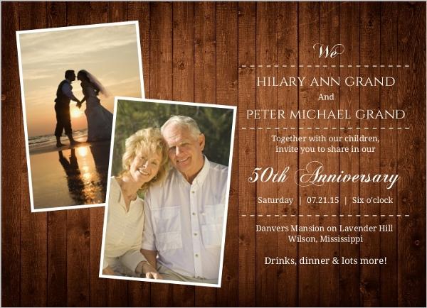 Cheap custom th anniversary invitations invite shop
