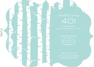 Cheap 40th Birthday Invitations Invite Shop