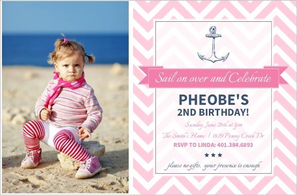 nautical birthday invitations