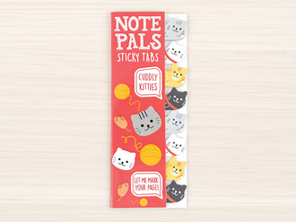 Kitties Note Pals Sticky Tabs