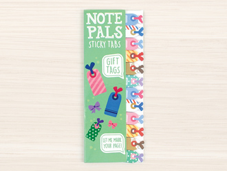 Gift Tag Note Pals Sticky Tabs